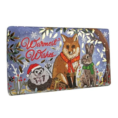 Winter Animals - Festive Wrapped Soaps 190gr